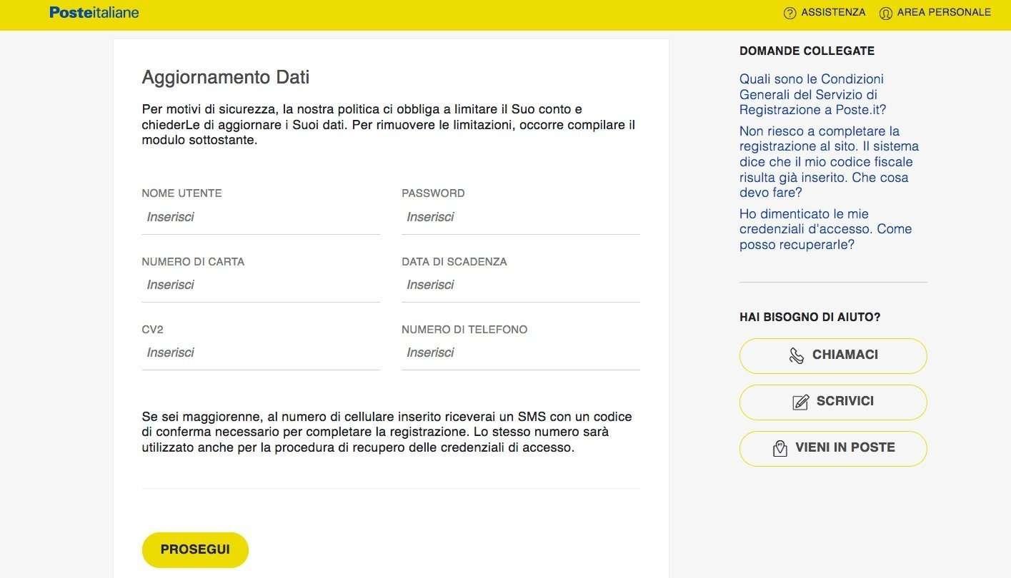 phishing-web-pagina-poste-italiane-postepay-evolution-lolli-group